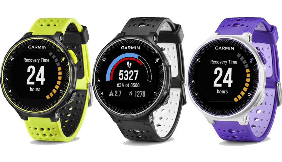 garmin forerunner 230 contre la montre montre. Black Bedroom Furniture Sets. Home Design Ideas