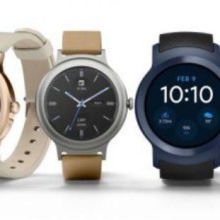 LG Watch Style et Sport : LG et Google annoncent leurs premières montres connectées sous Android Wear 2.0