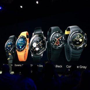MWC 2017 : Watch 2, la montre connectée de Huawei grossit et passe à la 4G