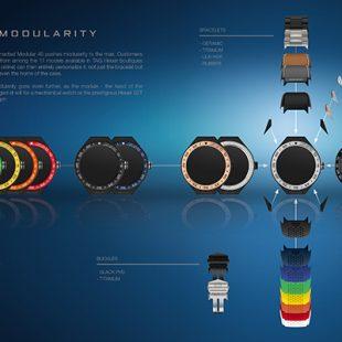 TAG Heuer lance sa smartwatch, la Connected Modular 45
