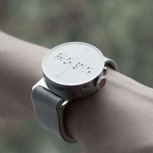 The Dot, une smartwatch pour les aveugles !